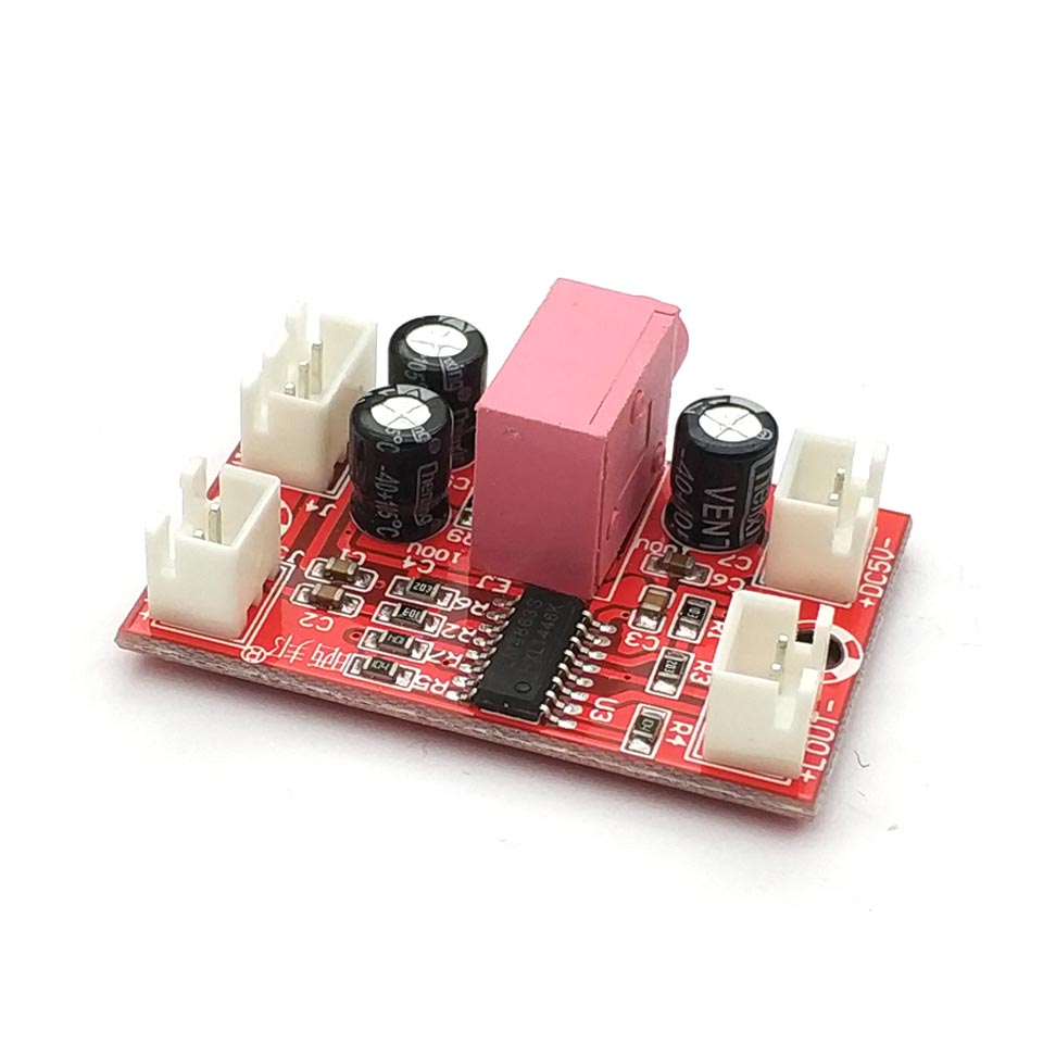 LM4863 Have A Fever 5V Mini Channel Power Amplifier Power Amplifier Board 3+3W Hifi Amp Charger Power Supply Board