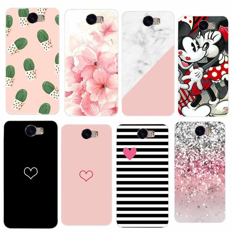 Case For Huawei Y5 II Y5II Y5 2 Case 5.0 inch Phone case TPU Silicone Cover Luxury For Huawei Honor 5A LYO-L21 CUN-U29 Coque