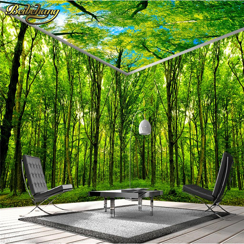 Online Get Cheap Space Theme Bedroom  Aliexpress com   Alibaba Group beibehang forest themed space full house backdrop Custom 3D mural wallpaper  TV backdrop bedroom living room. Forest Themed Bedroom. Home Design Ideas