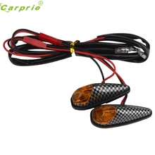 New 2x 5W Universal Motorcycle Motorbike Turn Signal Indicator Light DEC13