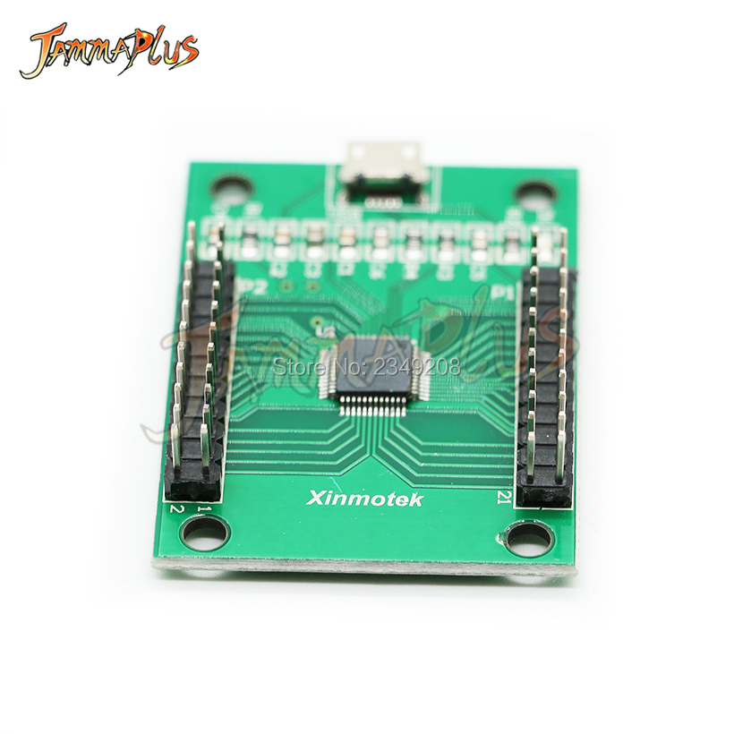 US $13 9 |2 Player USB To Joystick Jamma Arcade Controller for PC, PS3,  Linux, MAC, Android, Raspberry PI Arcade Parts-in Coin Operated Games from