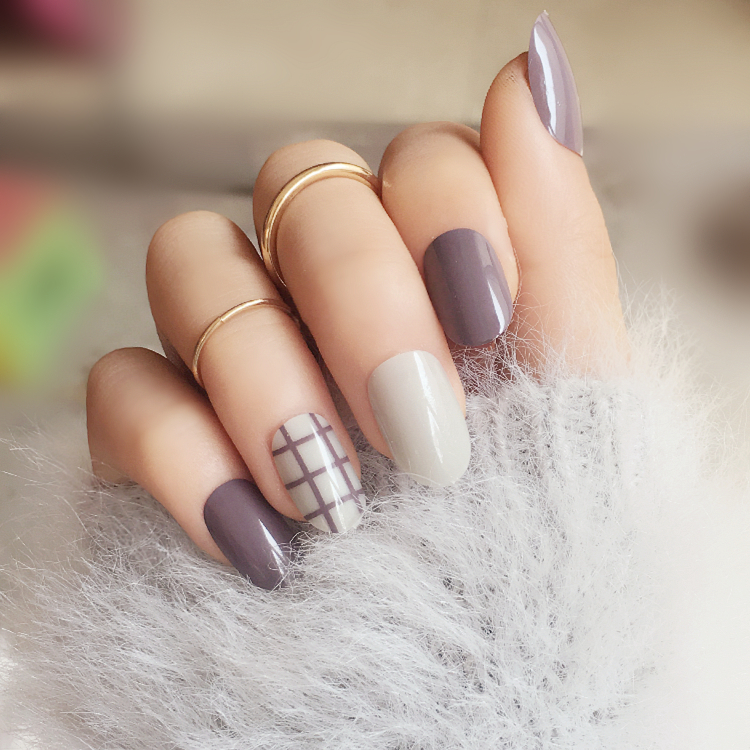 24pcs full nail tips finished false nailtaro stripes small round 24pcs full nail tips finished false nailtaro stripes small round medium long section nails decorating tools in underwear from mother kids on prinsesfo Choice Image