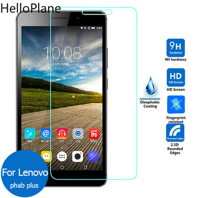 Tempered Glass For Lenovo Phab 1 Plus PB1-750M 6.98 PB1-750N PB1-770N PB1 750 770 750M 770N Screen Protector Tablet Film Guard