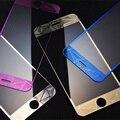 3d 0.3mm vidro temperado para celular para iphone 7 7 plus 5S se 6 s magro Caso Película Protetora de Tela Frente + tampa Traseira Completa Em 4S 5S 6 S