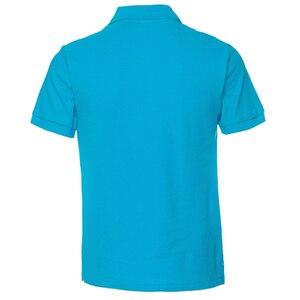 Image 2 - Мужская рубашка поло, Мужская одежда, мужские футболки поло, Повседневная летняя хлопковая Однотонная рубашка поло, 2019