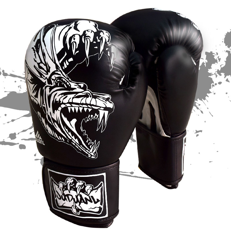 Boxing gloves adult Sanda Fist Professional game Muay Thai Fighting training sandbags fighting gloves man and woman  цены
