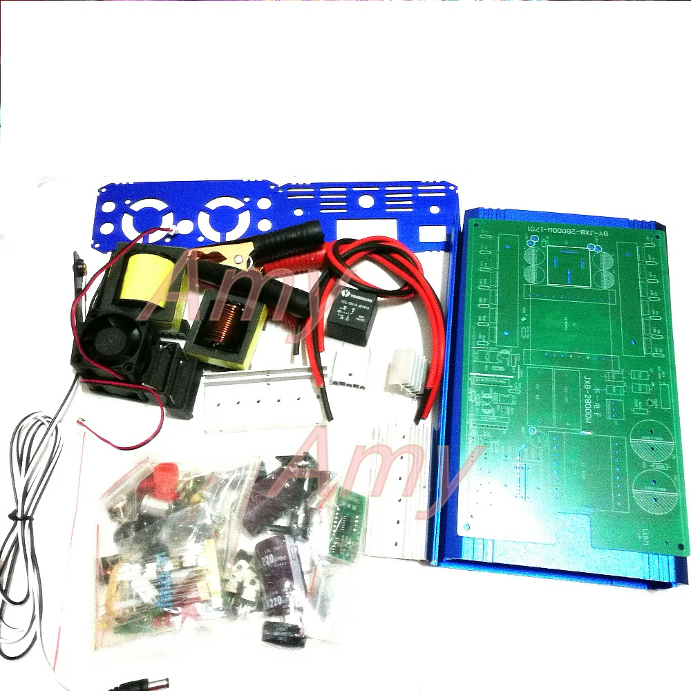 The electronic nose nose inverter kit 12V high power DIY parts of 8 major pipe 12