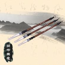 3 шт./лот каллиграфия кисти новичок каллиграфии живопись Несколько волос кисть, китайская кисть 3 имеющийся размер ACS001