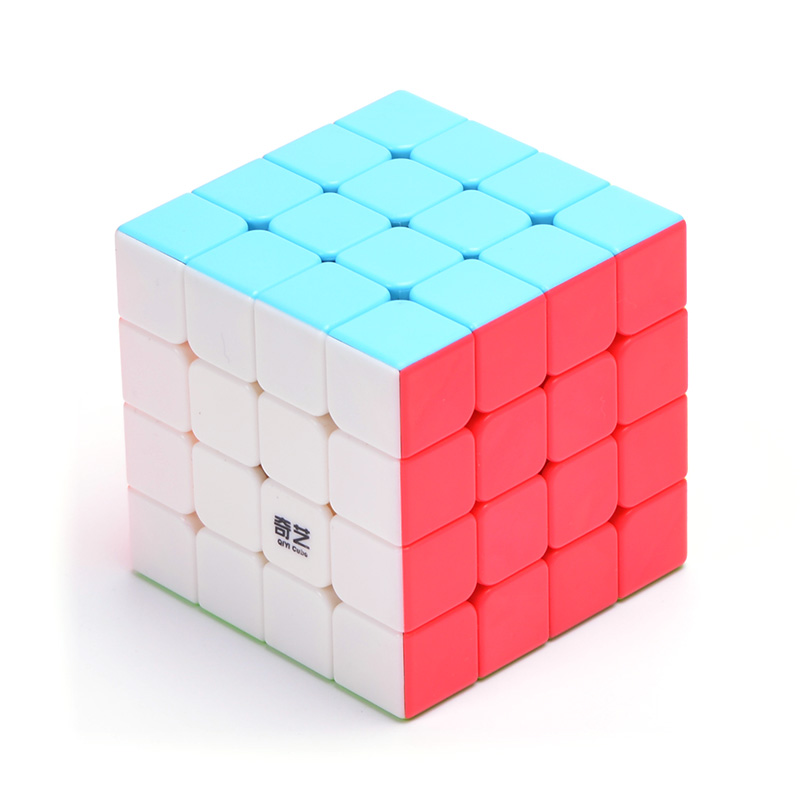 QIYI Cubes 4X4X4 For Magic Cube Master Spinner Speed Fidget Cube antistress Neo Cubo Magico For Children Adult Educational Toy enlightenment educational cube children toy