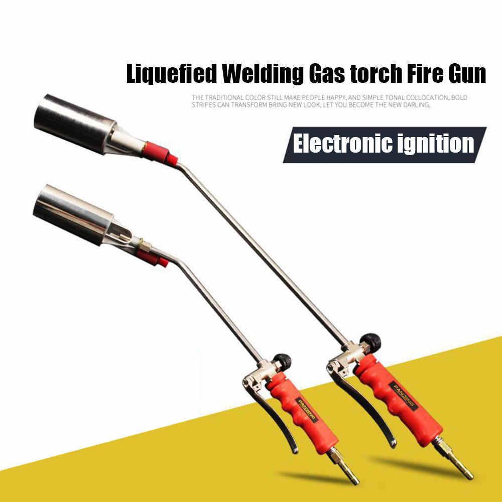 Hóa lỏng Hàn Khí torch Lửa Gun với Nút Đánh Lửa Cỏ Dại Burner Hàn Phụ Kiện cho Hàn Công Cụ Ngoài Trời Dã Ngoại BBQ