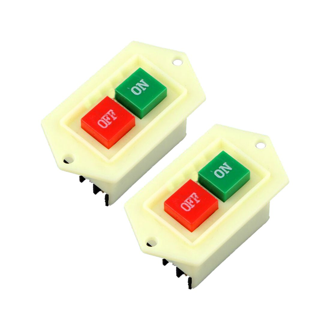 THGS LC3-5 large contact 5A bench drill switch starter button switch 2pcs ...
