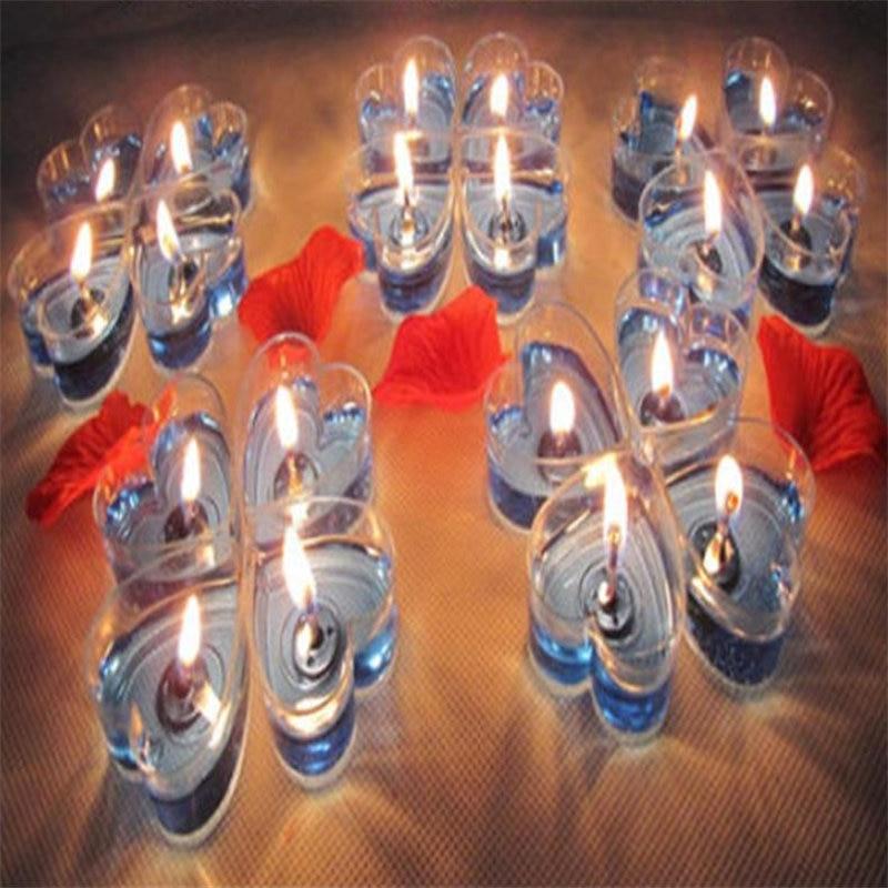 40PCS / komplekts DIY želejas sveces modes Aromātisks mazs sveces - Mājas dekors
