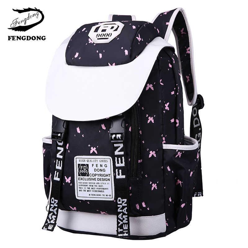 8c1ac2ad2903 girl school women shoulder bags waterproof large women backpack teenagers  girl bagpack backpack student casual travel