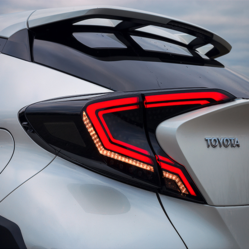 Car Styling Tail Lamp for Toyota CHR Tail Light 2018 2019 CHR LED Rear Lamp DRL