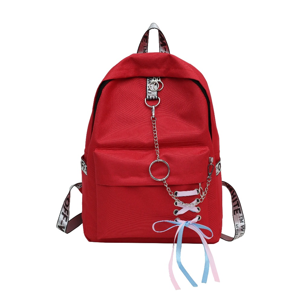 New style preppy style nylon travel backpack multifunctional school rucksack casual daypack grils mochila