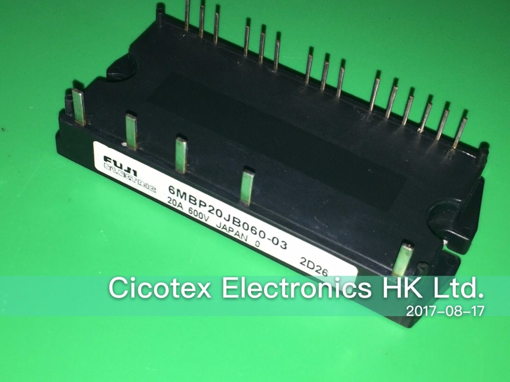 6MBP20JB060-03 MODULE IGBT IGBT-IPM 600V 20A brand new genuine authentic pm30rsf060 30a 600v igbt power module