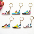 Cute DORAEMON New Balanceer 574 Key Chain Keychain , Sneaker Keychain Kids Key Rings Women Key Holder Chaveiro Llaveros