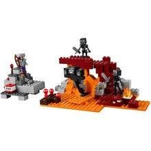 Lepin Minecrafte My World Zombi Építőelemek Tégla Játékok Kompatibilis Legoe