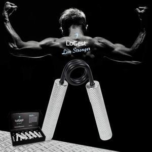 Image 5 - MYSBIKER 金属ハンドグリッパー最高、前腕 & 指エクササイザー歌手グリッパー抵抗レベルは 100 ポンド