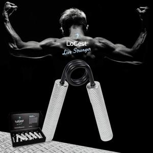 Image 5 - MYSBIKER Metal Hand Gripper The Best Grip,Forearm & Finger Exerciser Singer Gripper Resistance Level is 100 lbs