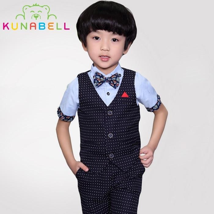 어린이 아기 소년 생일 옷 턱시도 웨딩 드레스 공식 - 아동복