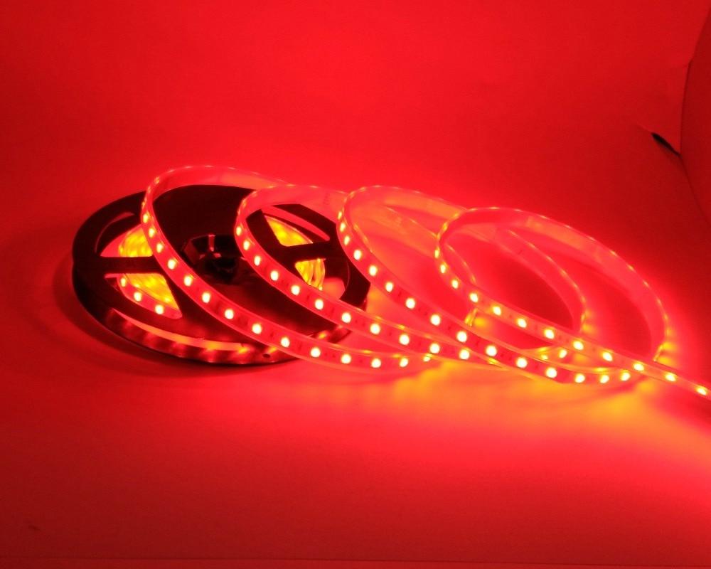 IP67 5050 LED csík DC12V 60 LED / M kiváló minőségű szilikon - LED Világítás - Fénykép 6