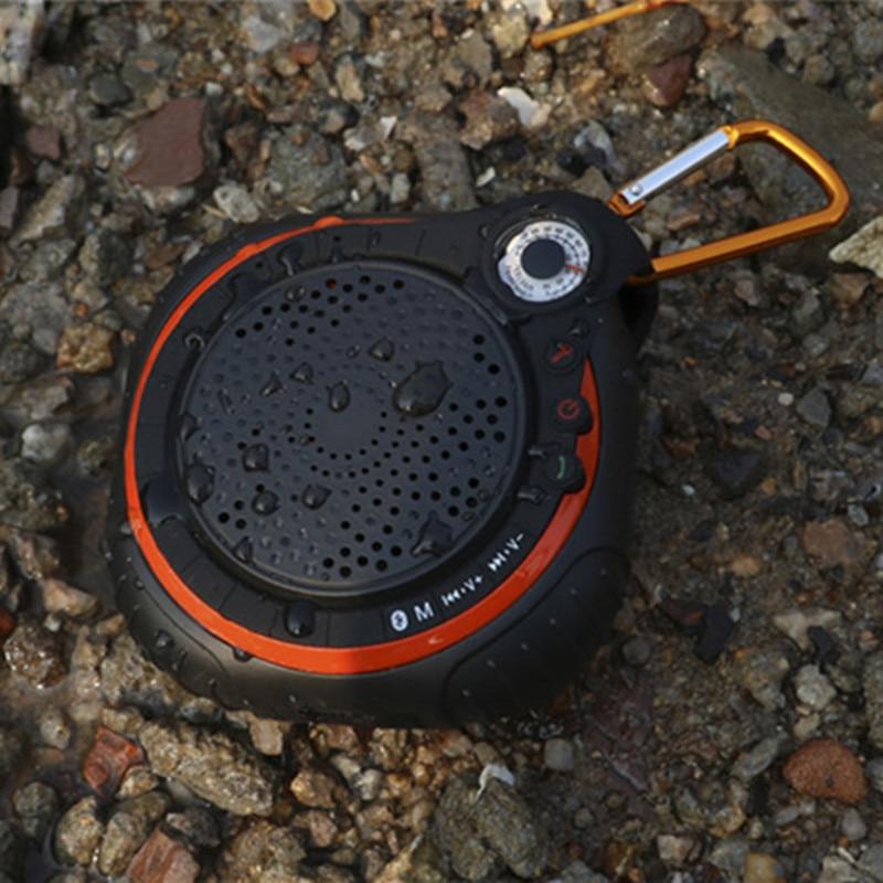 Wireless Bluetooth Speaker With Microphone Waterproof IPX5 Outdoor Sport Loudspeakers Soundbox Speaker Support TF Card