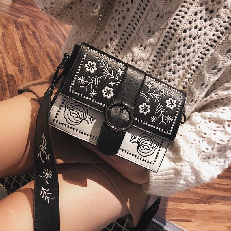 Lenksien estilo conciso de plataforma de cuñas patchwork Punta de encaje de las mujeres de cuero natural punk saliendo con zapatos casuales zapatos de L18 - 5