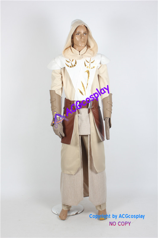 Star Wars Jedi Temple Guard Cosplay Costume ACGcosplay custom made game Real Shot