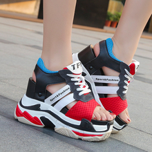 Women Peep-toe Wedges Platform Casual Sandals