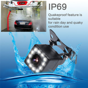 """Image 4 - GSPSCN Parking System 2 in 1 TFT 5"""" HD Car Monitor with 170 Degrees Waterproof Car rear view Backup infrared camera + monitor"""