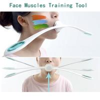 1 Pcs Face Muscles Training Wand Roller Anti Wrinkles Massager Smile Exercise Facial Fitness Face Lifting