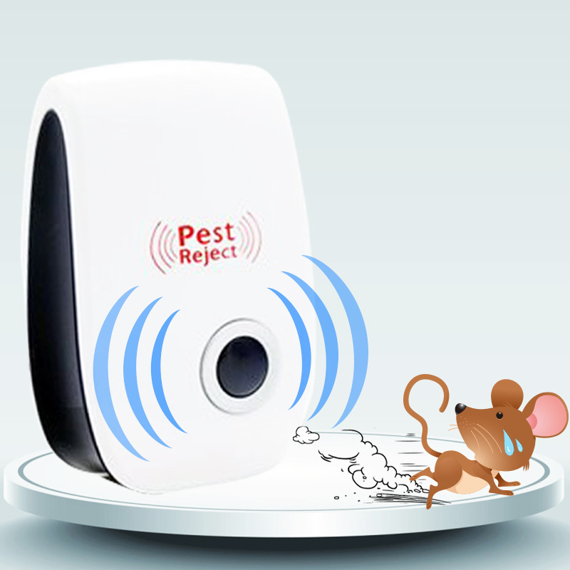 Ultrasound Electronic Mosquito Repellent Household Insect Repellent Rodent Repellent Cockroach Suppressor