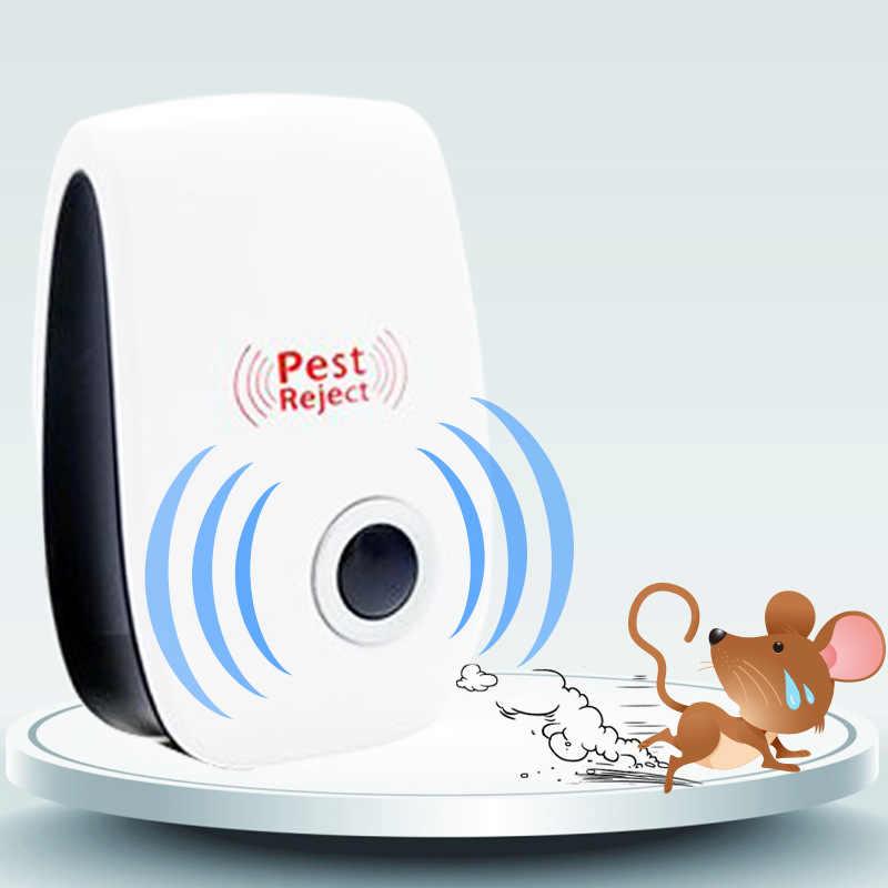 Ultrasound elektronische muggenmelk huishoudelijke muggenspray knaagdieren repellent kakkerlak suppressor