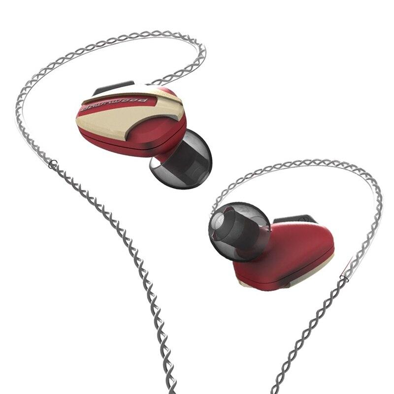 HIDIZS Dawnwood ST08 écouteurs intra-auriculaires dynamiques haute résolution IEMS avec câble détachable 2pin/0.78mm fil de cuivre sans oxygène 5N