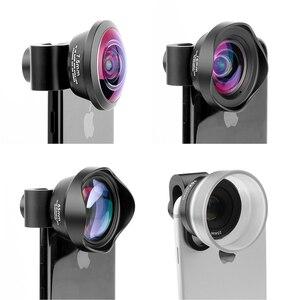 Image 2 - Ulanzi Ampio Angolo di Obiettivo Macro per iPhone Android Fisheye Ritratto Teleobiettivo con la Clip per il iPhone Xs Max XR X piexl Samsung
