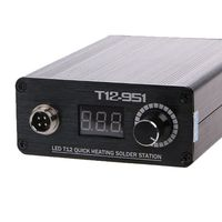 LED T12 Quick Heating Soldering Station STC LED Temperature Controller T12 Iron Tips DIY Kits