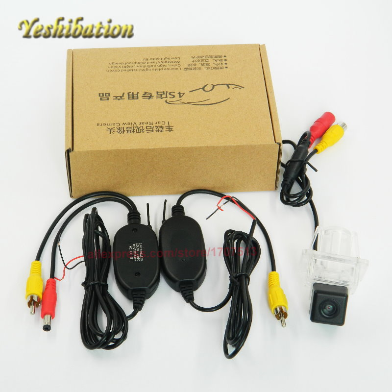Yeshibation Wireless CCD Reverse Back Up Camera For Mercedes <font><b>Benz</b></font> <font><b>SLK</b></font> Class MB <font><b>R172</b></font> 2012~2015 Parking Camera License Plate Light image
