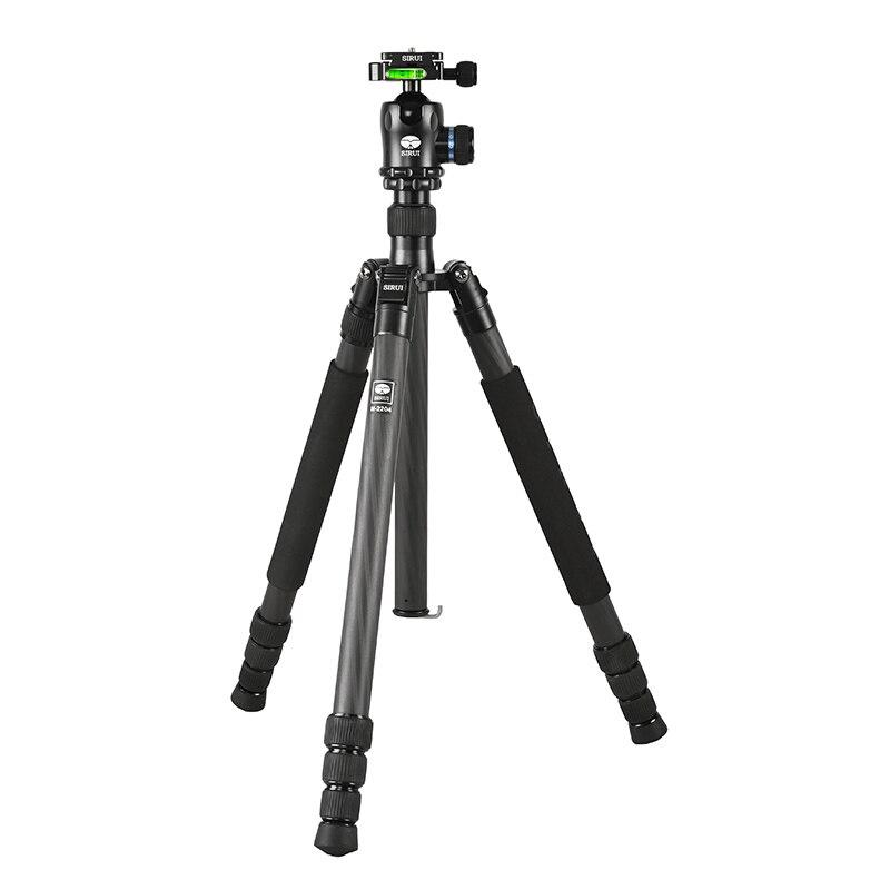 SIRUI N2204X+K20X carbon fiber Travel Portable SLR camera tripod head bracket EMS free shipping