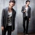 Мода мужская uyuk идеально элегантный мужской кардиган зимние свитера мужчин плюс размер 3XL 4xl 5xl