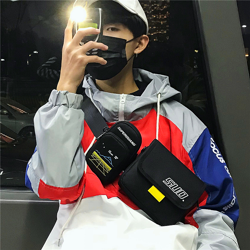 Waist Bag For Men Fashion Waist Pack Purse Phone Belt Bag Travel Chest Bag Case For Mobile Phone Bum Hip Shoulder Multifunction