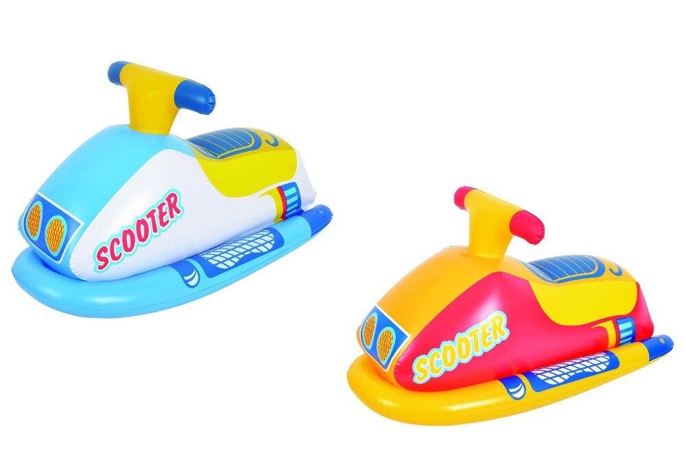 Бесплатная доставка! 83x38 см детские надувные всадника скутер, для детей возрастом от 3 до 6 лет надувные всадника скутер, бассейн игрушки, вод...