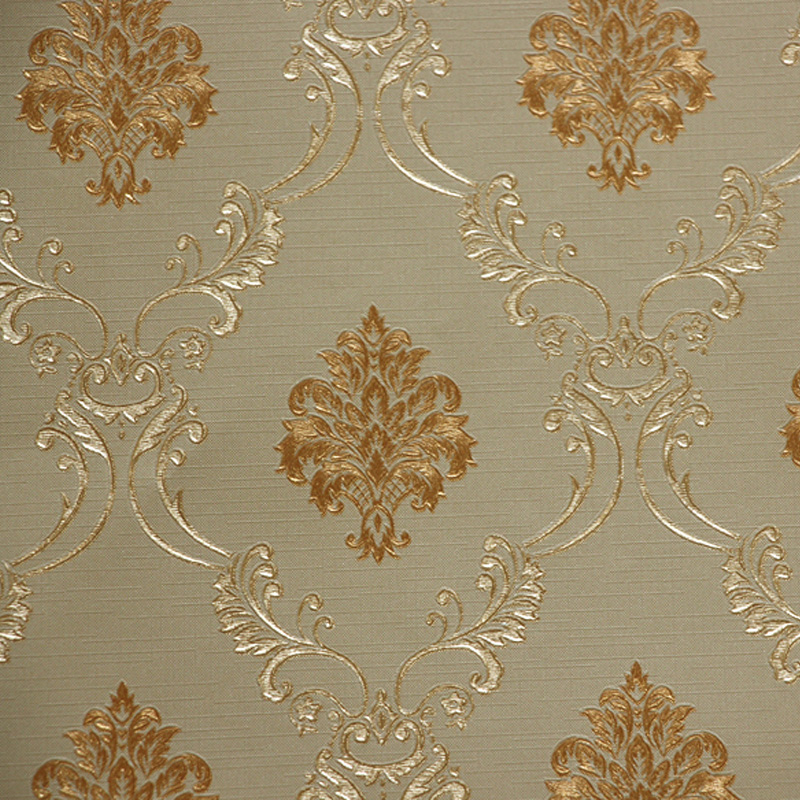 European Luxury Damask Fresh 3D Wallpaper For Living Room Bedroom Walls PVC Embossed Vintage Wall Paper Roll TV Sofa Background beibehang high quality embossed wallpaper for living room bedroom wall paper roll desktop tv background wallpaper for walls 3 d