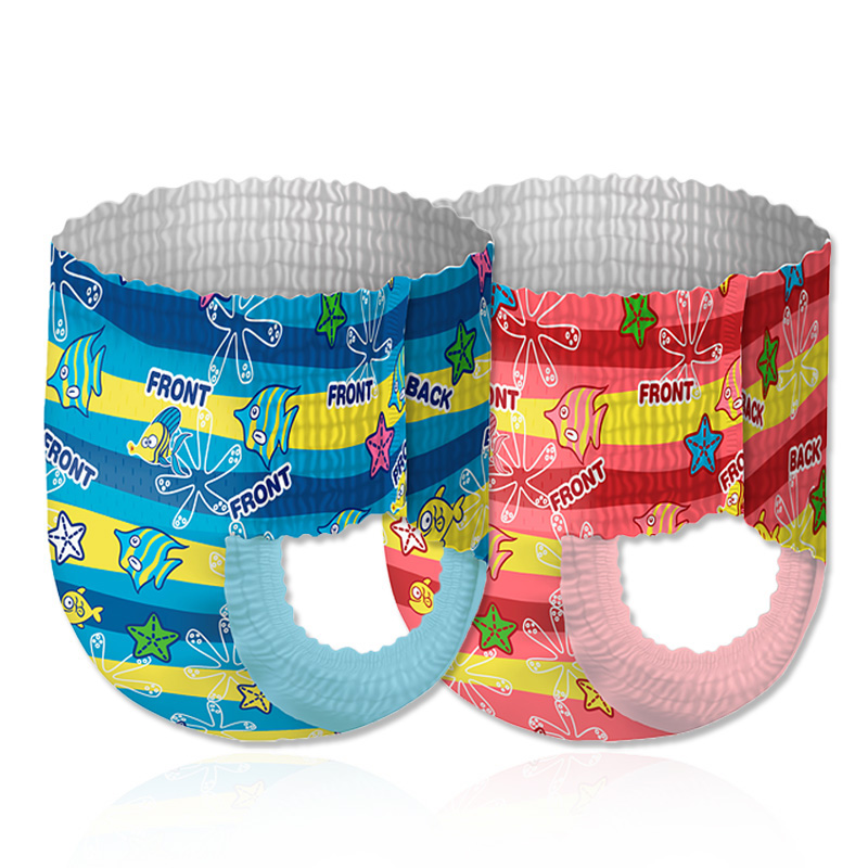 Baby Swim Diaper Waterproof Adjustable Cloth Diapers Pool Pant Swimming Diaper Cover Reusable 2-3 Times Washable Baby Nappies