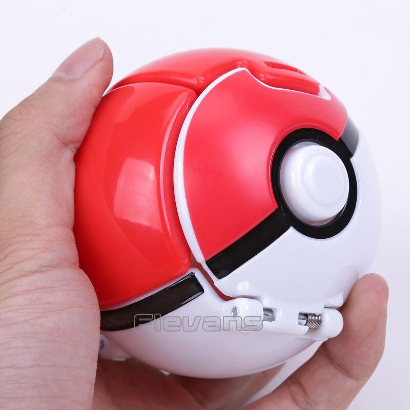 <font><b>Monsters</b></font> Go Poke Ball Elf Ball / Great / Ultra / Repeat Ball can change <font><b>shape</b></font> <font><b>Action</b></font> <font><b>Figure</b></font> Collectible Model Toy 7.5cm