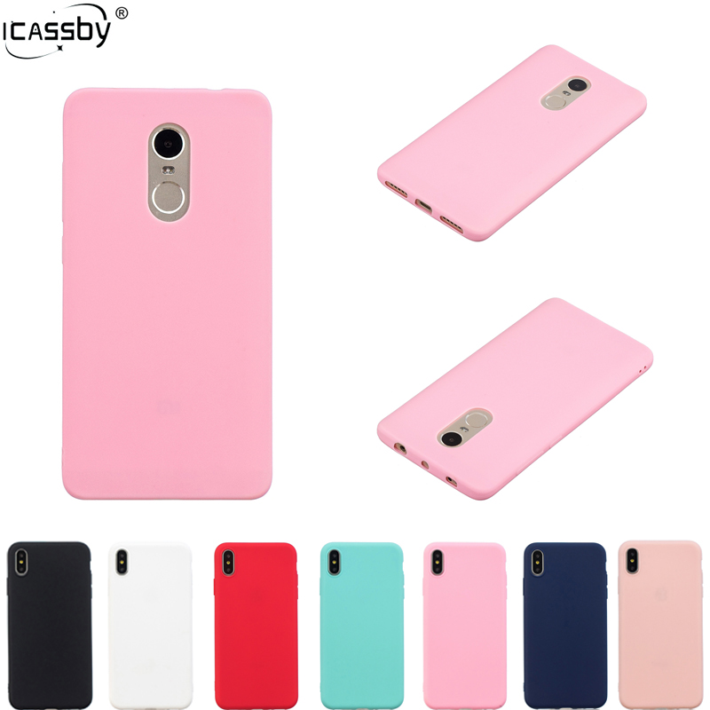 Rubber Silicon Cover For Xiaomi <font><b>Redmi</b></font> <font><b>Note</b></font> <font><b>4X</b></font> 4 <font><b>Case</b></font> Candy Soft <font><b>TPU</b></font> Back Cover For Xiaomi <font><b>Redmi</b></font> <font><b>Note</b></font> <font><b>4X</b></font> <font><b>Xiomi</b></font> <font><b>Redmi</b></font> Note4 X <font><b>Case</b></font> image