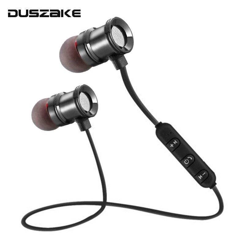 DUSZAKE Wireless Earphone Bluetooth Headphone For Phone Sport Wireless Bluetooth Headphones In Ear Wireless Bluetooth Earphones цены онлайн