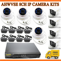 HD 960P 4PCS 1 3MP IP CAM 720P Indoor Network CCTV Home Security Camera System 4CH