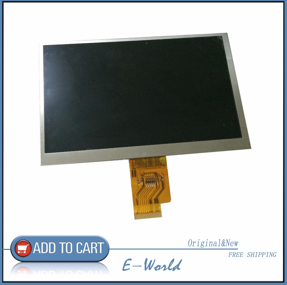 Original 7inch 40pin LCD screen for Megafon Login2 MT3A Login 2 Tablet PC panel Matrix Digital