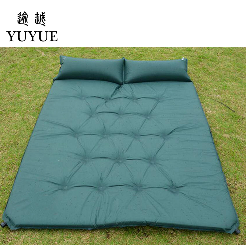 5cm Thick Double Resident Mattress For 2 Person Outdoor Camping Tent Air Bedding For The Air Mat For Beach Colchoneta Camping 5